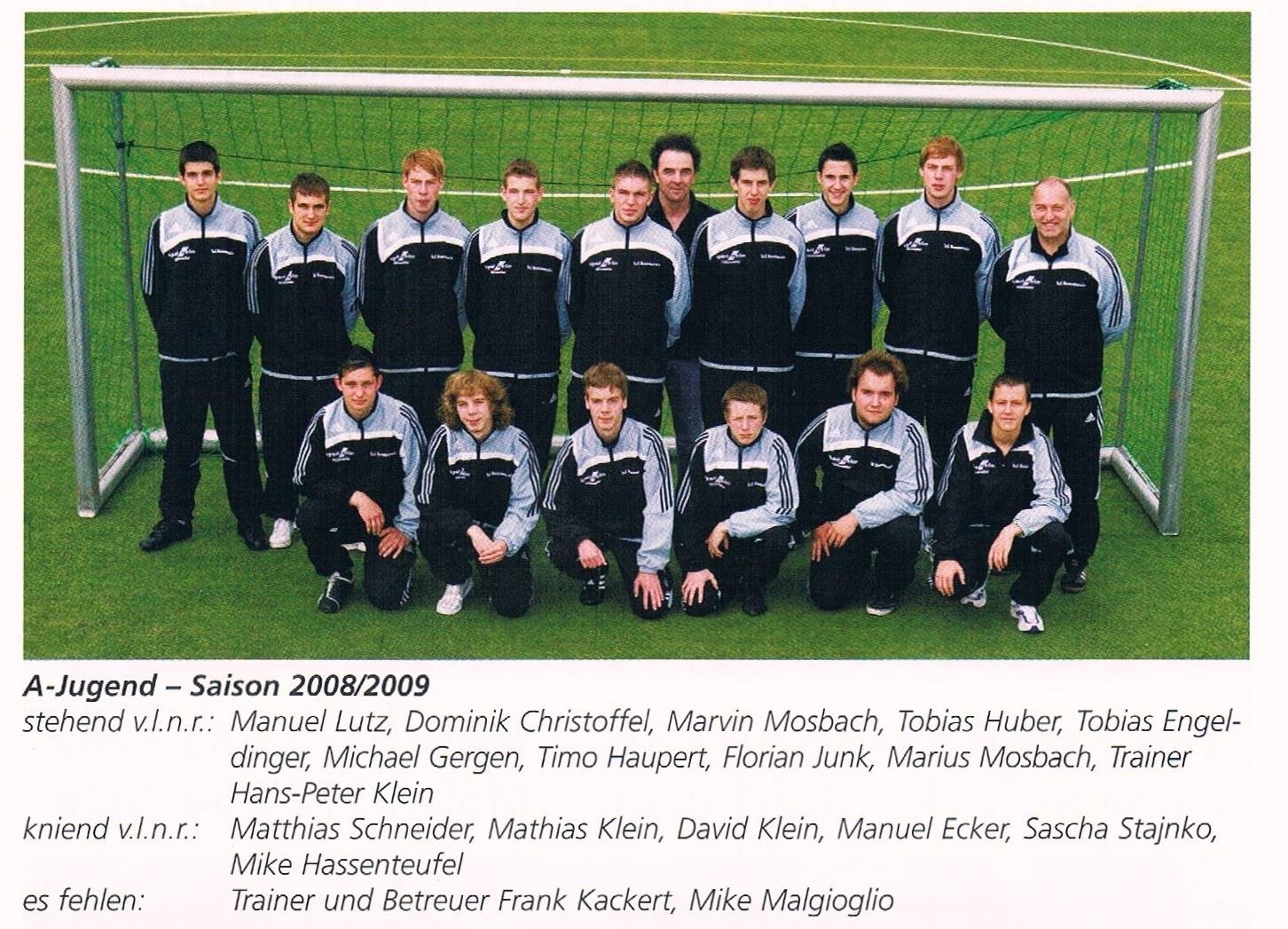A-JUGEND 2008/09