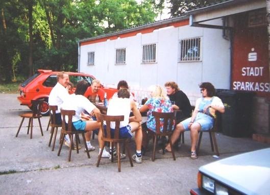 Feiern beim TuS - Anfang 90er Jahre