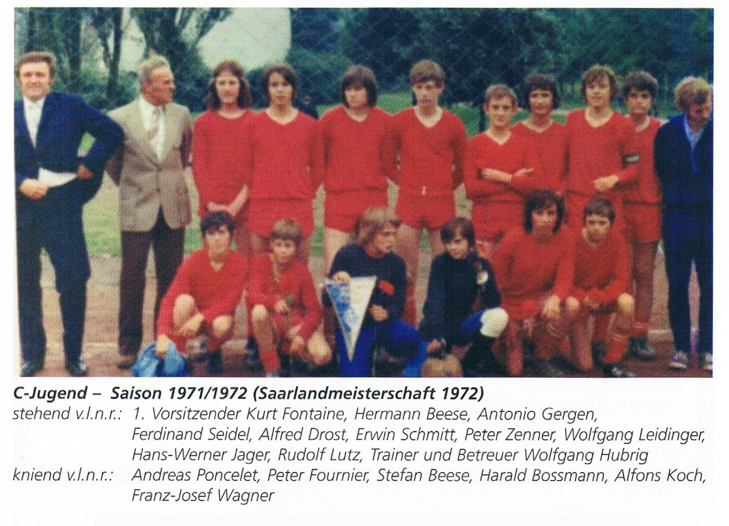 C-JUGEND 1971/72