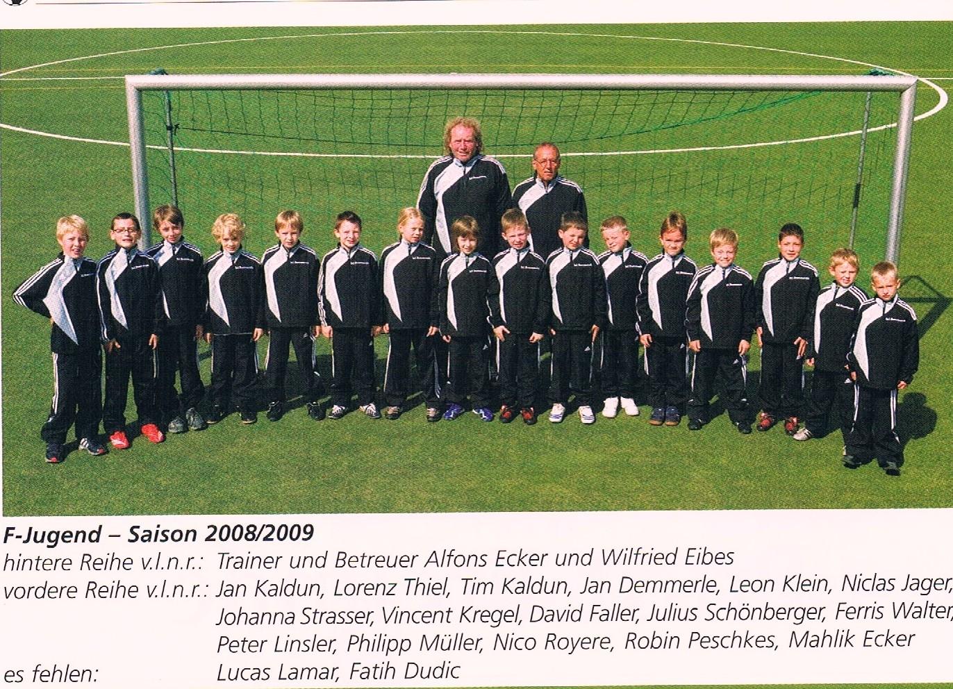 F-JUGEND 2008/09