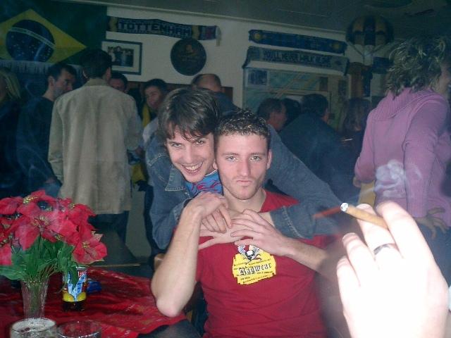 SILVESTER IM CLUBHEIM 2004