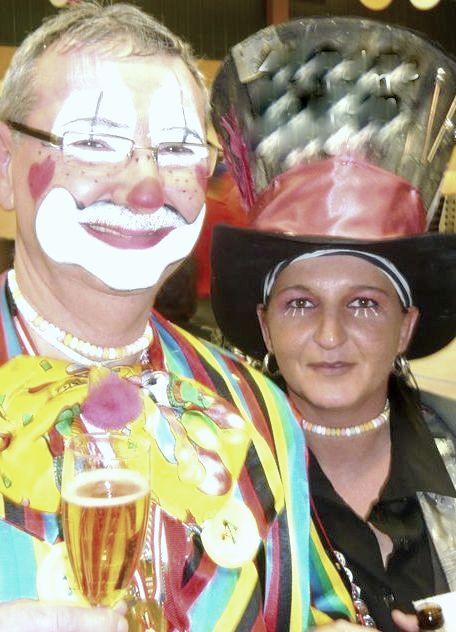 Hansi und Katja - Kindermaskenball 2005