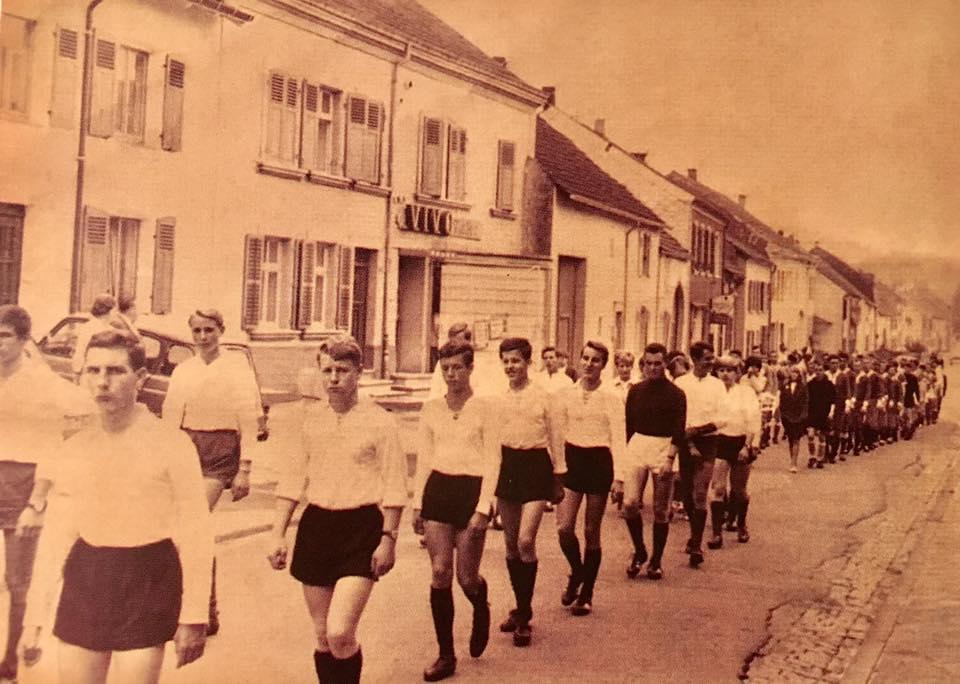 Sportveranstaltung in Beaumarais - ENDE 1960er JAHRE