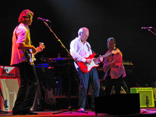 Glenn Worf, Mark Knopfler, Richard Bennett