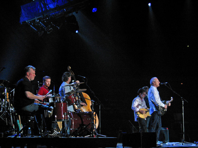 Danny Cummings, Matt Rollings, Glenn Worf, Richard Bennett, Mark Knopfler