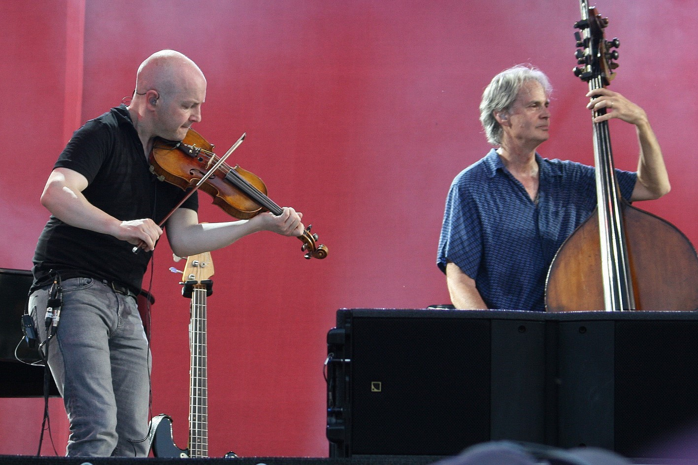John McCusker und Glenn Worf