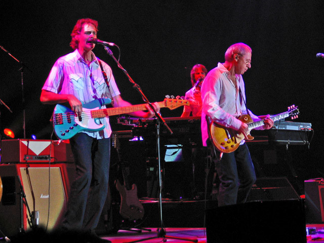 Glenn Worf, Guy Fletcher, Mark Knopfler