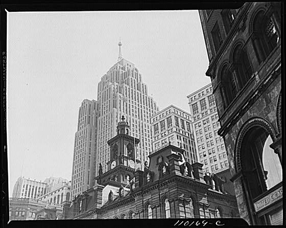 Detroit City Hall 1942