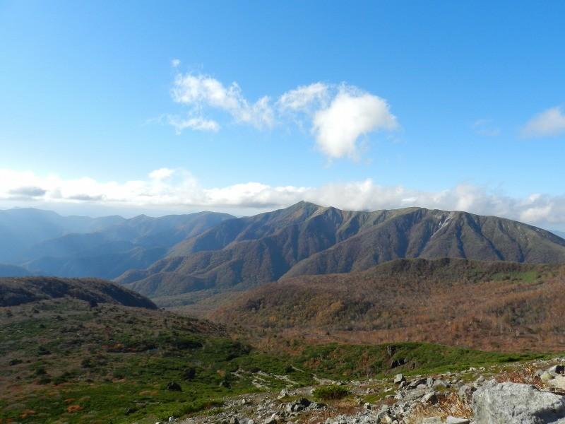 筑波山や日光連山が見えた