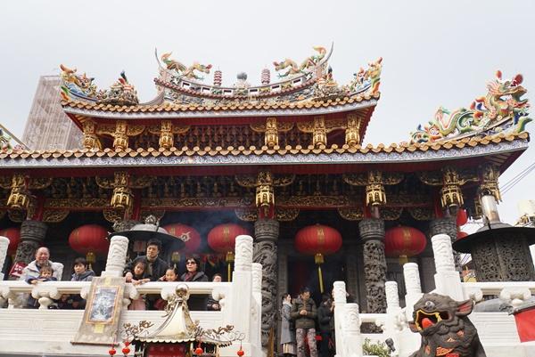 関聖帝君を祀る関帝廟