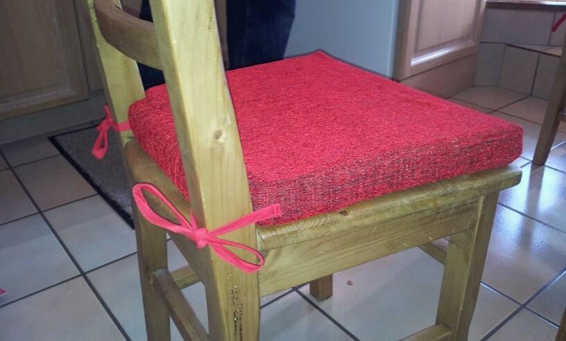 Une housse confortable pour chaise