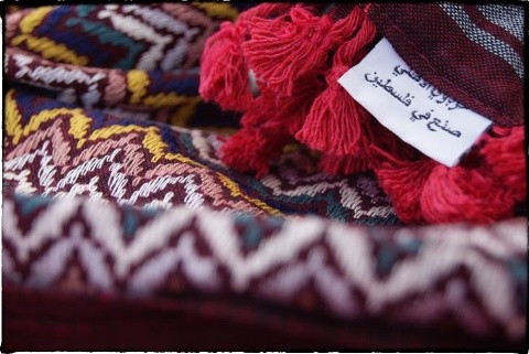 "Hirbawi Textile Factory produces Kufiya, the iconic patterned scarves worn around the Middle East. The factory is ""the only and the last"" to produce Kufiya in Palestine, says manager Abdul Hirbawi with some pride. Other countries in the Middle East where"