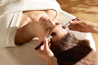 Kosmetikzimmer Eppendorf: ein Behandlungsfoto
