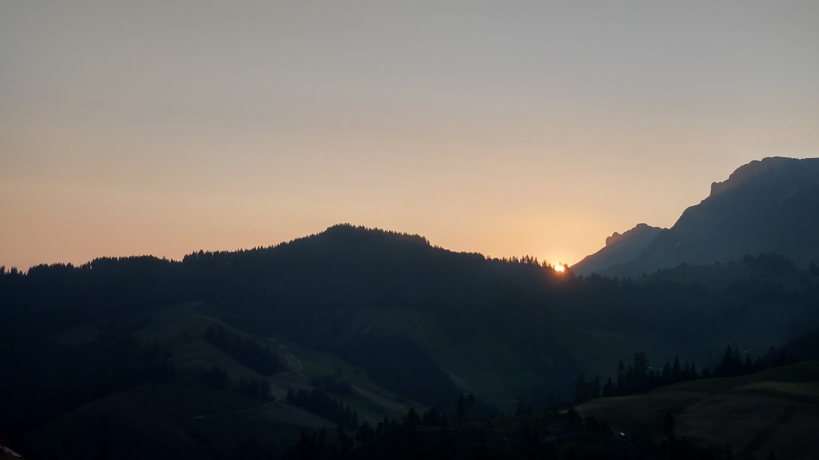 Sonnenaufgang....immer ein Highlight