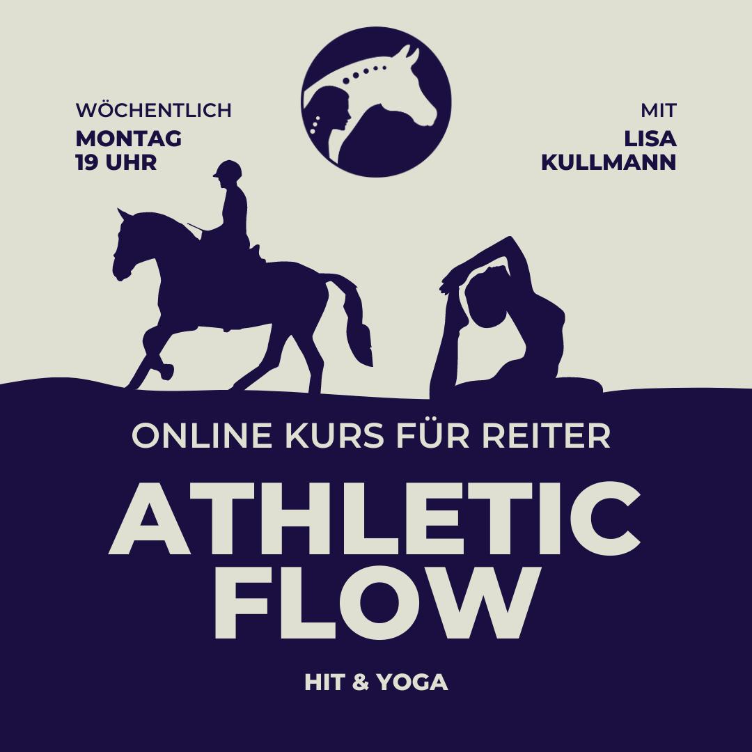 Athletic flow Training für Reiter