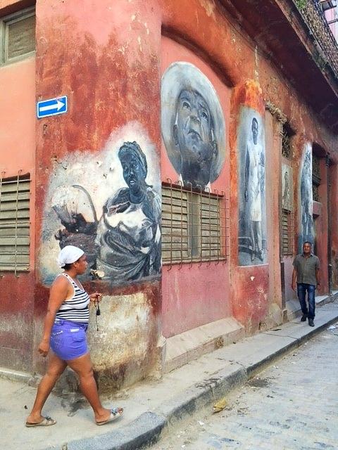 Au détour d'une rue de la Vieja havana