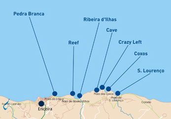 Spots vers Ericeira