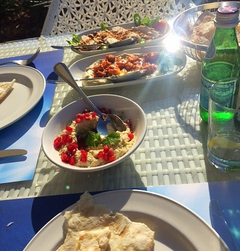 Restaurant libanais sur la Marina