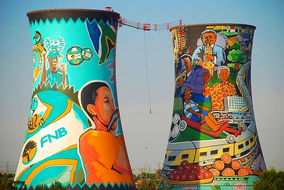 Orlando Towers à Soweto