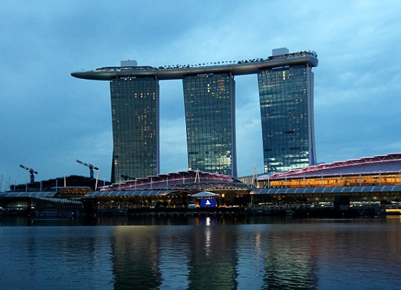 l'hotel Marina Bay Sands