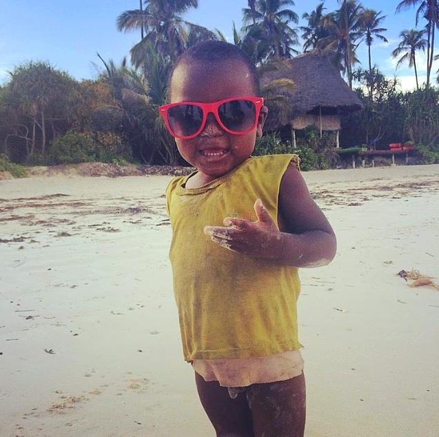 Le boss de Matemwe, village à l'est de Zanzibar