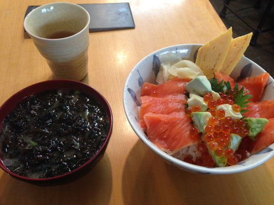 Petit dej a Tsukiji
