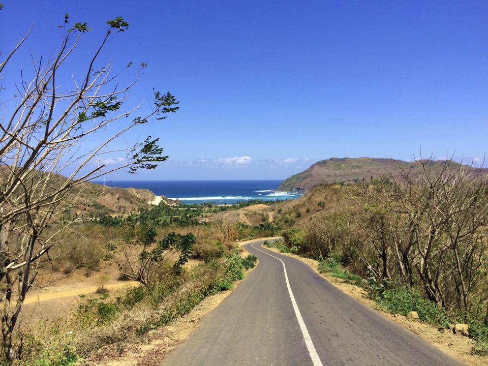 Sur la route à Lombok