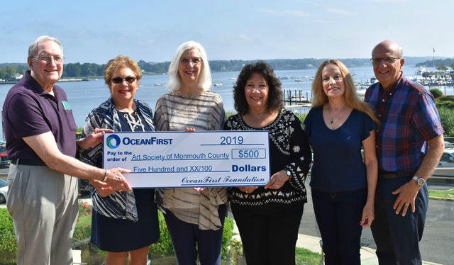 Ocean First Foundation grant presentation Summer 2019