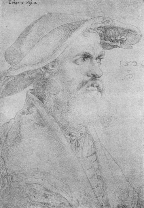 Porträt des Eobanus Hesse