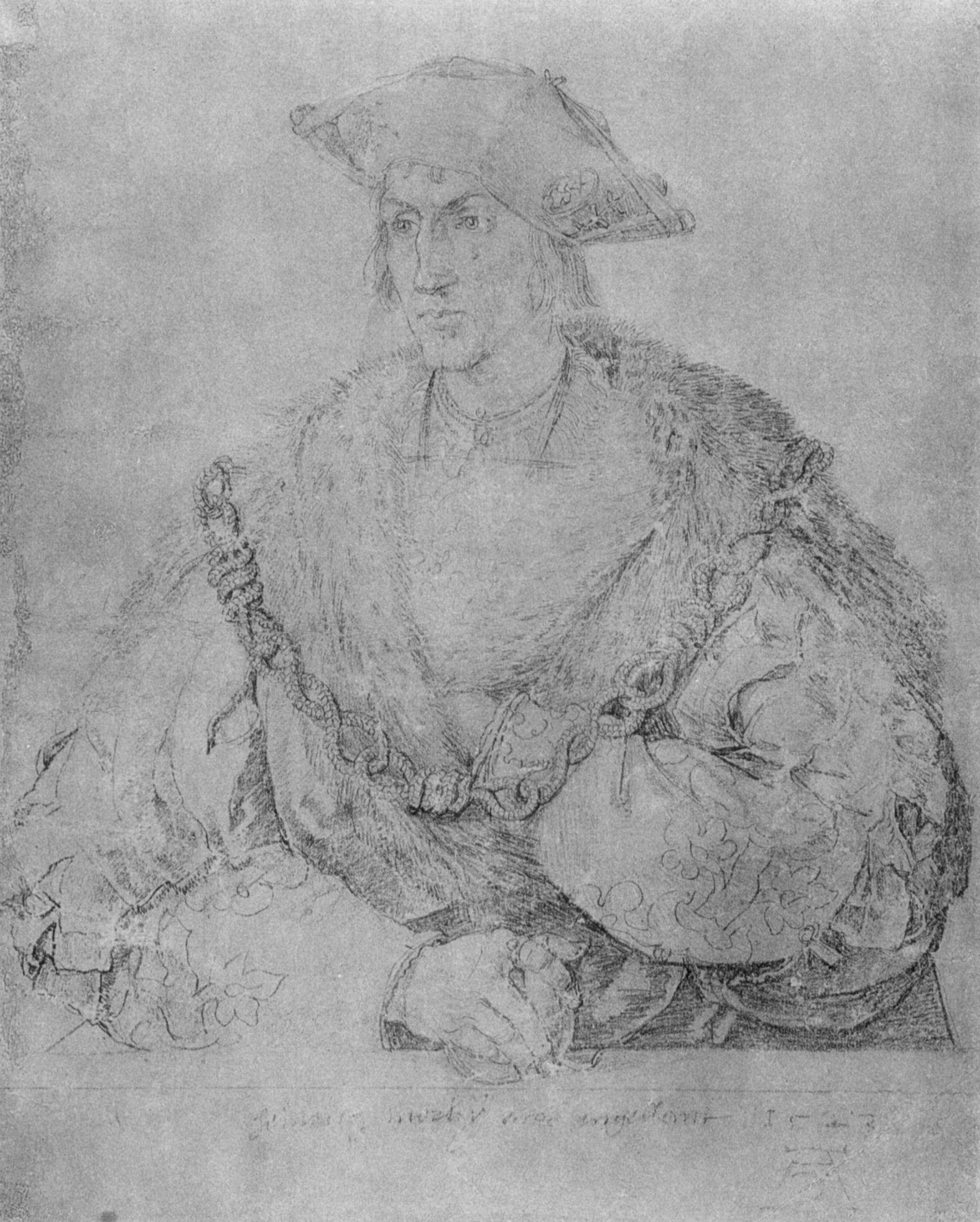 Porträt des Heinrich Parker - Lord Morley