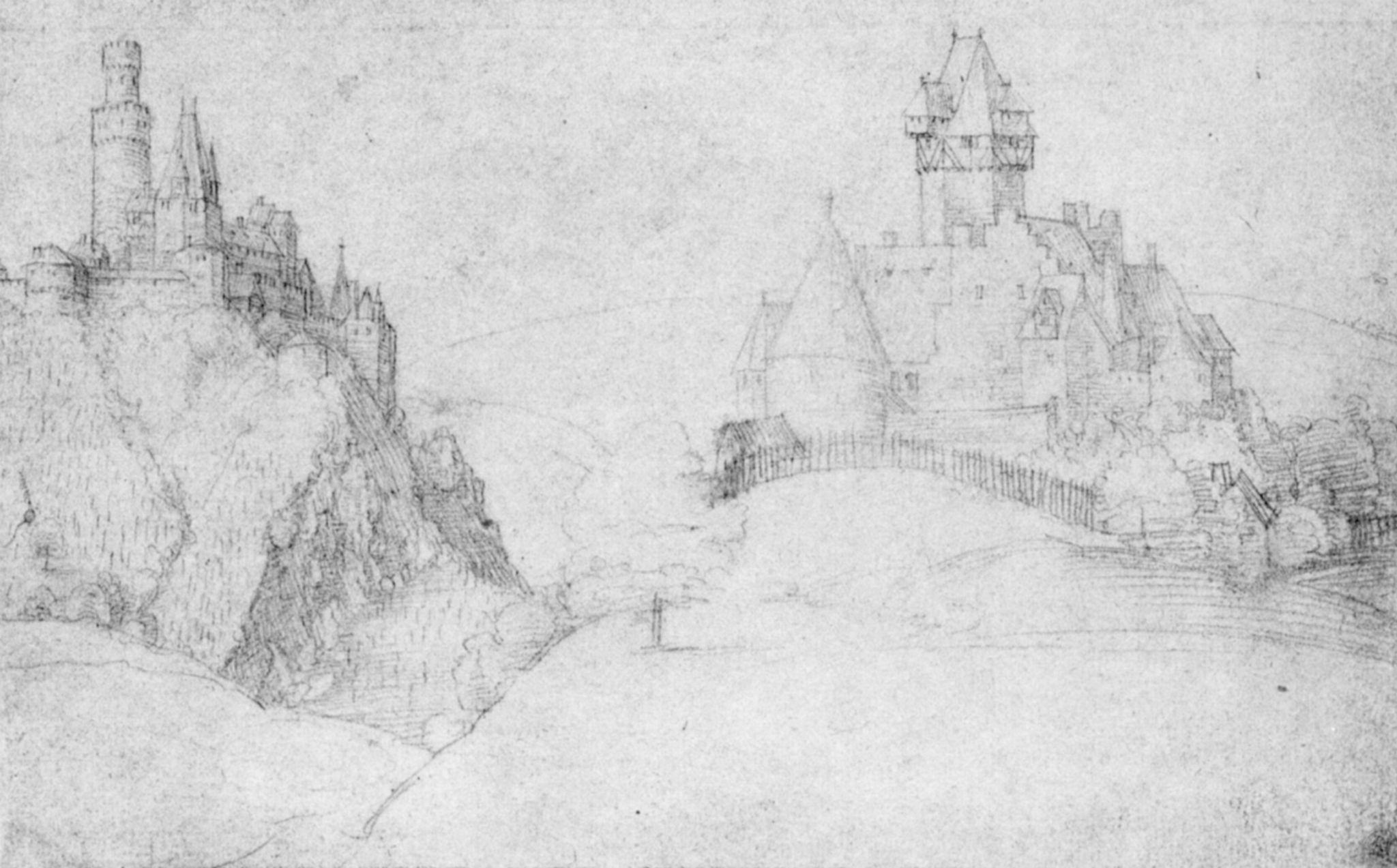 Zwei Burgen