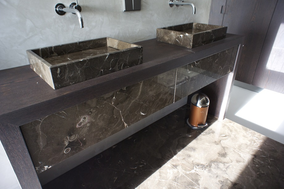 Oriental Brown marble (made for Atre)