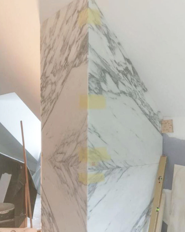 We have a team of expert natural stone tilers