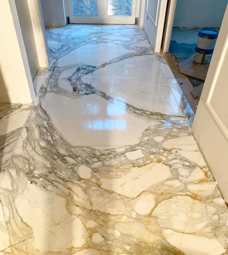 Calacatta marble does not get much better