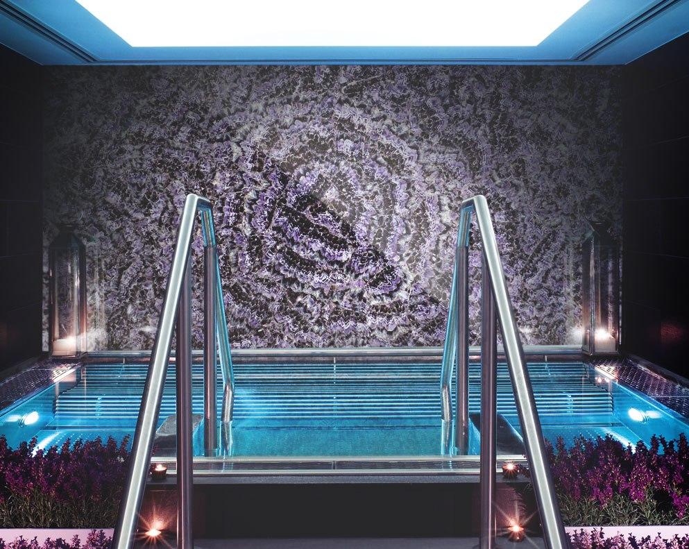 Amethyst decorative wall