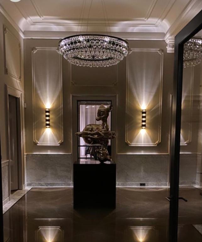 Bronze Armany marble luxury hallway