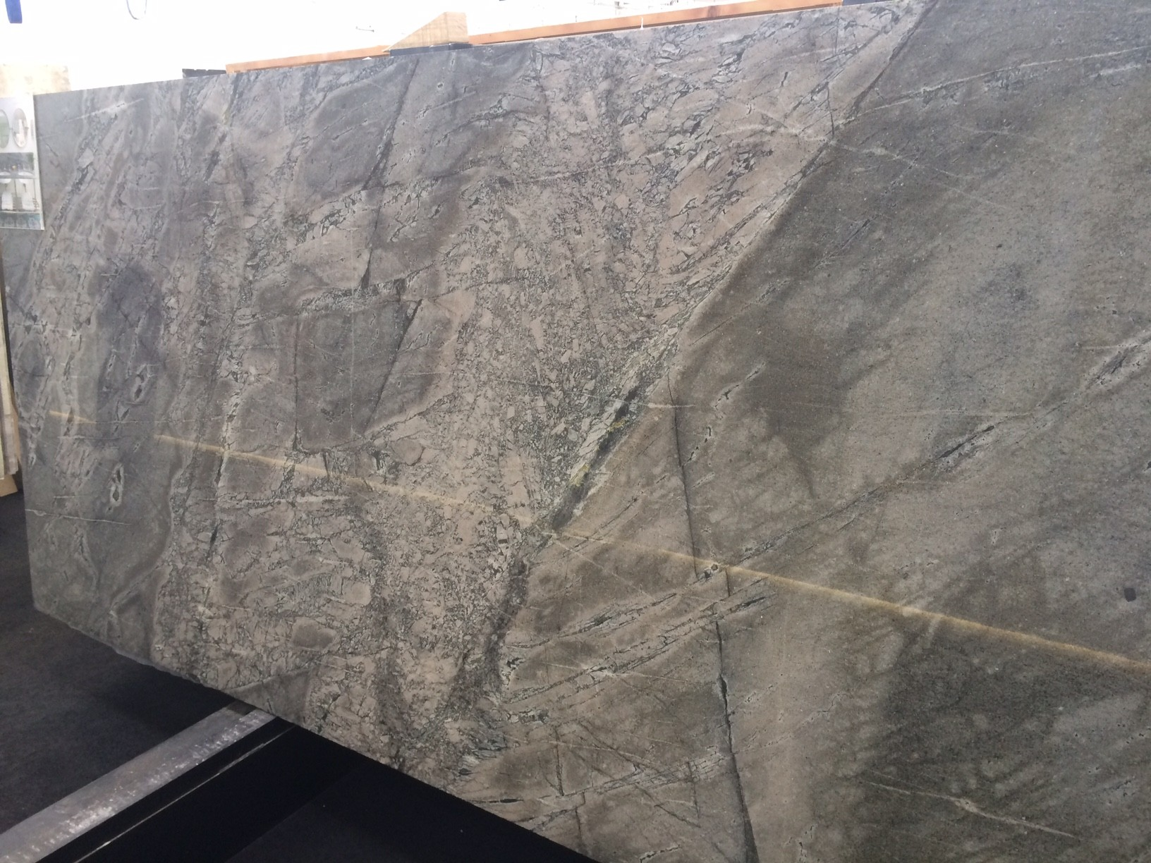 Atlantic Grey granite  (also available at other slab suppliers)