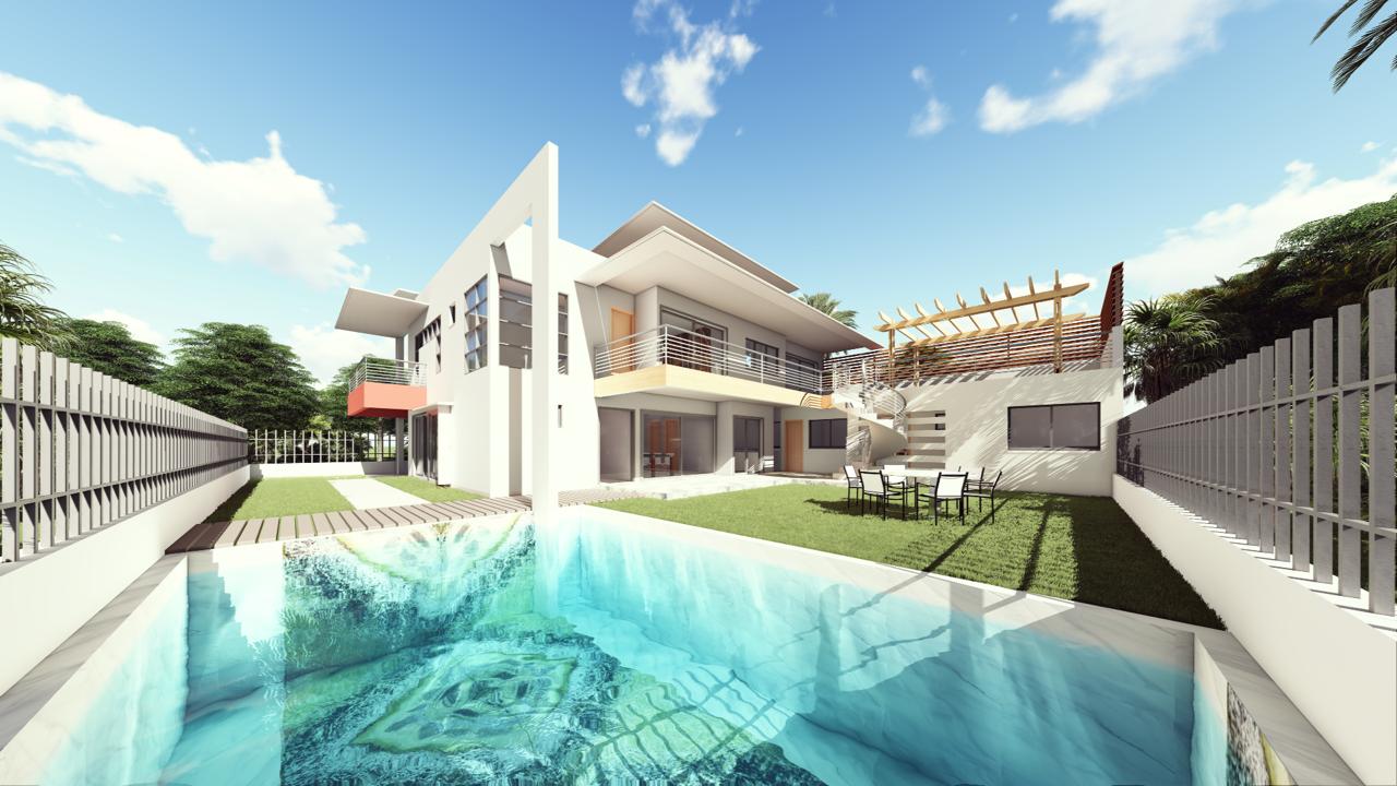 Ontwerpen gebaseerd op echte platen natuursteen: Irish Green zwembad