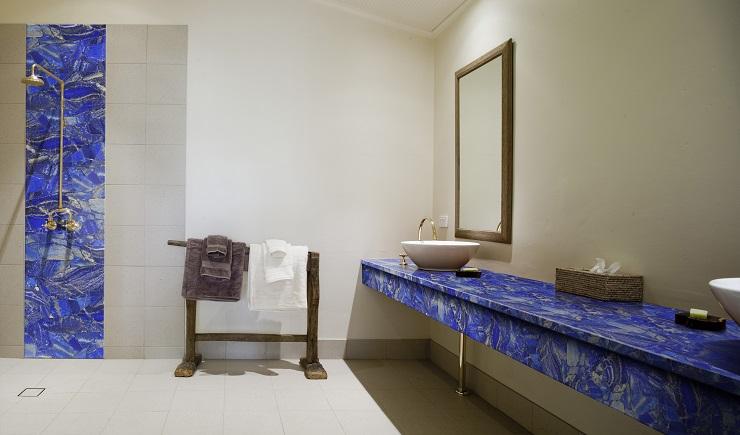Lapis Lazuli bathroom elements
