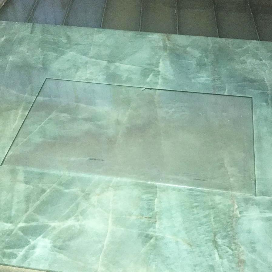 Precision cuttung of the granite