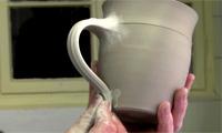 Henkeln einer Tasse