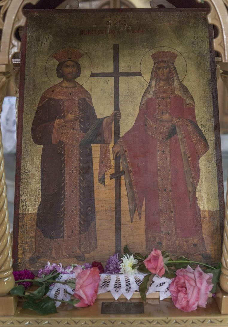 Greece Ilia Andravida Agia Konstantinou nameday