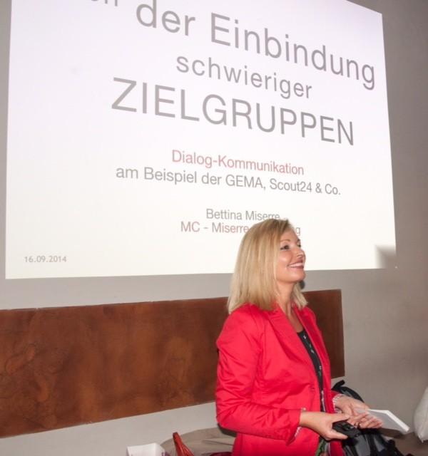 Keynote bei Venture Pursuit GmbH Event