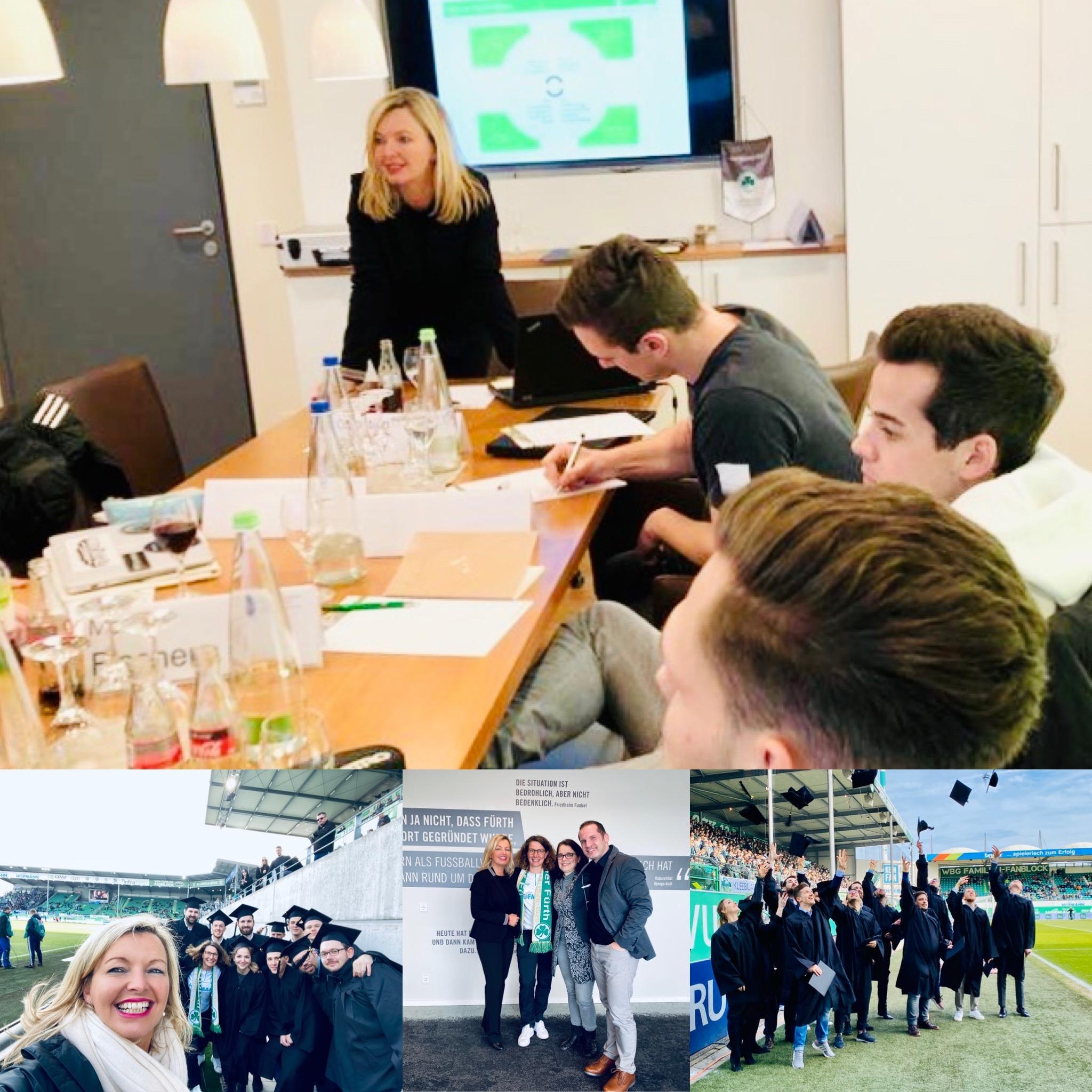 "Seminar ""Agiles Projektmanagement"", Master Studiengang am SPORTBUSINESS CAMPUS 2020"