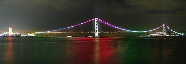 明石海峡大橋(レインボー)