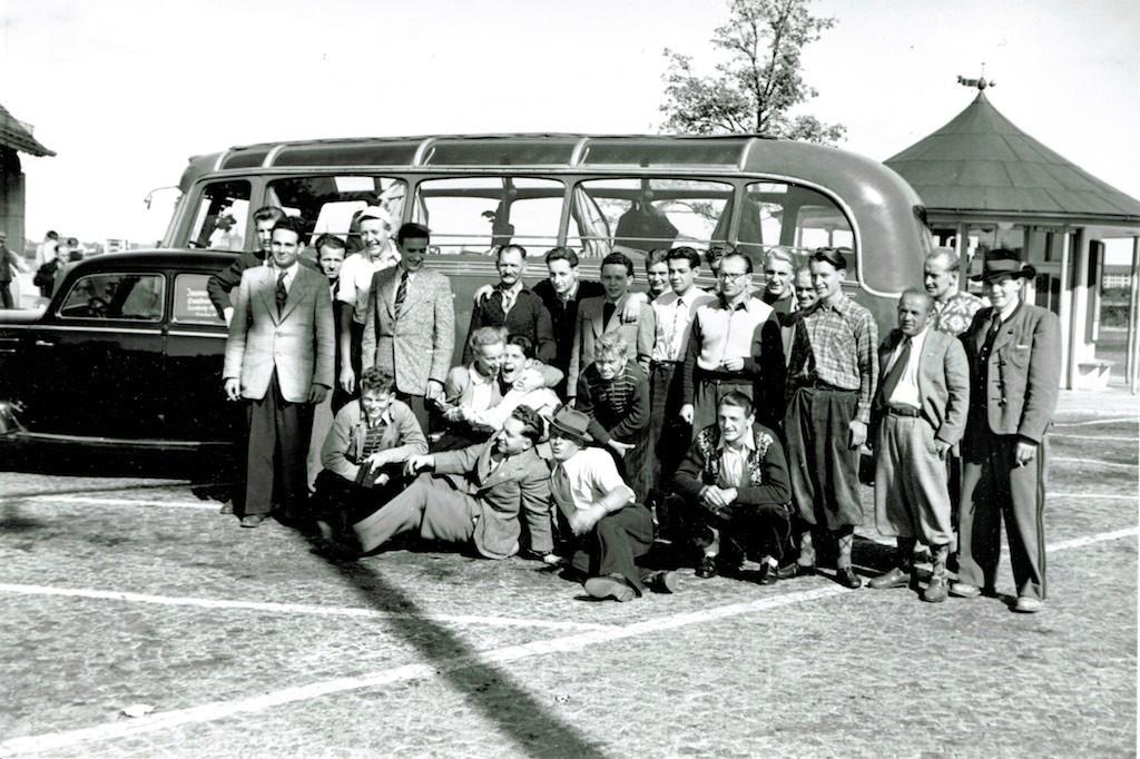 Auf der Heimreise - Omnibus Bosch Eltingen
