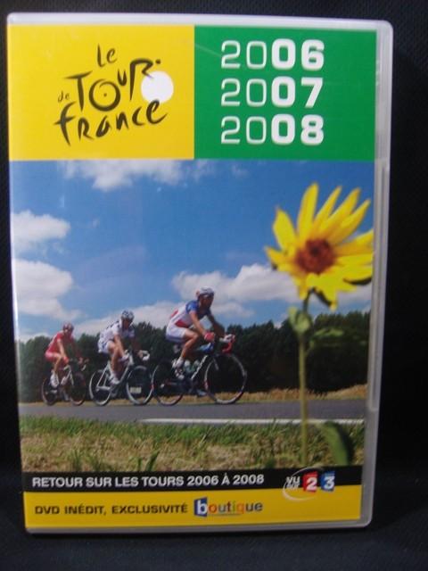 DVD  Tour de France 2006-2007-2008