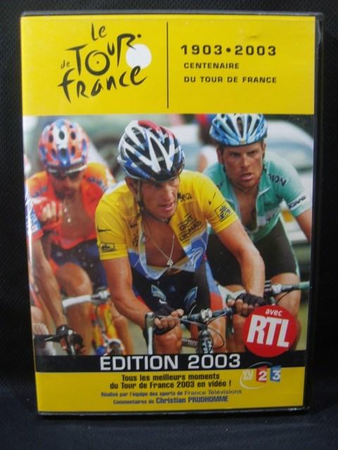 DVD  Tour de France 2003