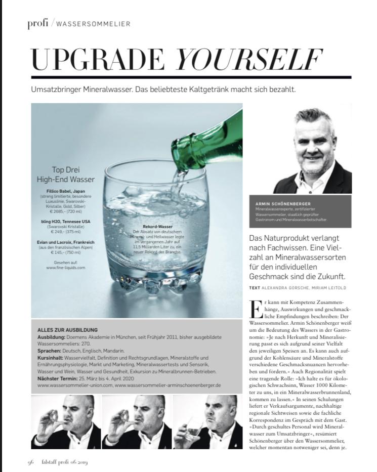 Falstaff Profi Magazin Dezember 2019
