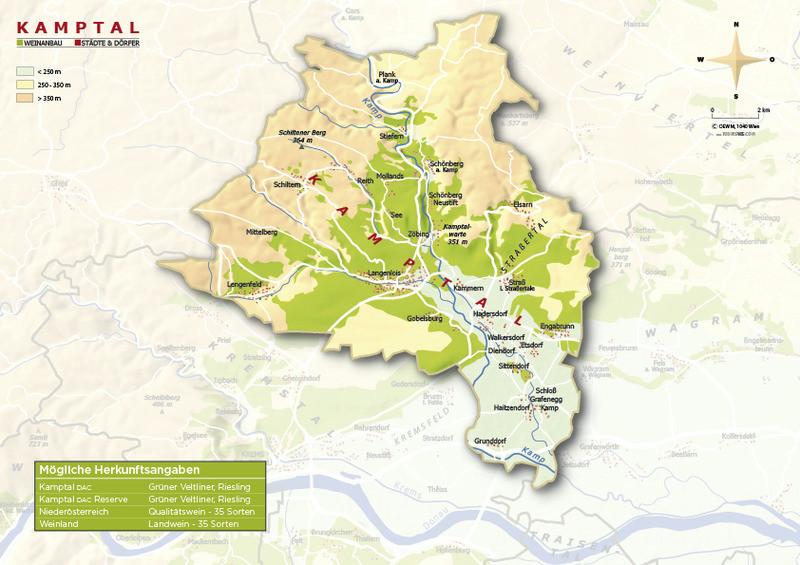Geologische Karte Kamptal - ÖWM/Photograph